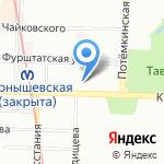 Возрождение на карте Санкт-Петербурга