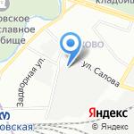 ГИДРОСТАР на карте Санкт-Петербурга