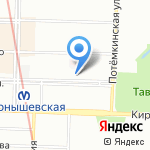 ИТТА на карте Санкт-Петербурга