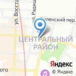 Переплёт на карте Санкт-Петербурга
