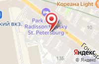 Схема проезда до компании Аверс в Санкт-Петербурге