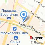 Solo Kat на карте Санкт-Петербурга