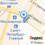 Ладо-Град на карте Санкт-Петербурга