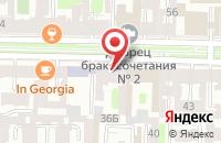 Схема проезда до компании Ассоциация Профессионалов в Санкт-Петербурге