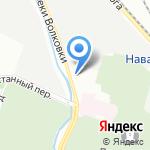Весёлая затея на карте Санкт-Петербурга