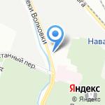 Иволга на карте Санкт-Петербурга
