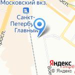 Уралтранс-компани на карте Санкт-Петербурга
