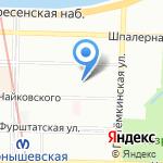 Камилла на карте Санкт-Петербурга