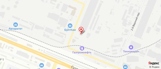 Карта расположения пункта доставки DPD Pickup в городе Санкт-Петербург