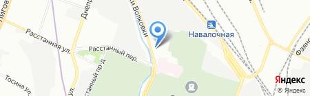 Хлебпром на карте Санкт-Петербурга