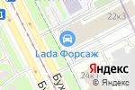 Схема проезда до компании ДАКАР в Санкт-Петербурге