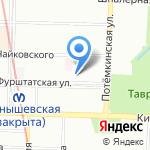 Отдел формирования на карте Санкт-Петербурга