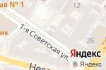 Схема проезда до компании Смартоптик в Санкт-Петербурге