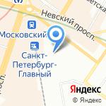 Санкт-Петербургская транспортная прокуратура на карте Санкт-Петербурга