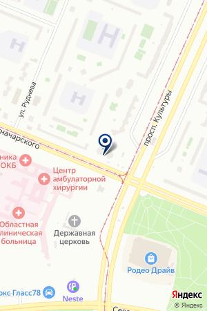 ТПФ КЭВАЛ на карте Санкт-Петербурга
