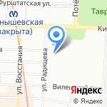 Петербургская Неотложка на карте Санкт-Петербурга