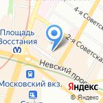 Метро-Микс на карте Санкт-Петербурга
