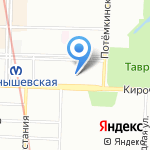 Кирочный двор на карте Санкт-Петербурга