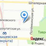 Ю & Т на карте Санкт-Петербурга