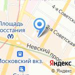 Комиссионный магазин на карте Санкт-Петербурга