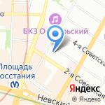 Женская консультация №35 на карте Санкт-Петербурга