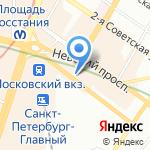 Forward на карте Санкт-Петербурга