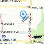 Военная коллегия адвокатов на карте Санкт-Петербурга