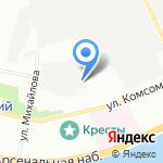 Kresla+ на карте Санкт-Петербурга