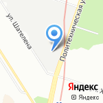 НИИ телевидения на карте Санкт-Петербурга