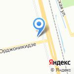 Есенин на карте Санкт-Петербурга