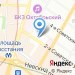 Северо-Западный научный центр гигиены и общественного здоровья на карте Санкт-Петербурга