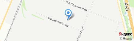 Факториал на карте Санкт-Петербурга