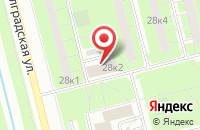 Схема проезда до компании Респектбл Саунд в Санкт-Петербурге