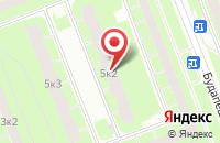 Схема проезда до компании Уни-Терм в Санкт-Петербурге