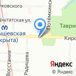 Архипова и партнеры на карте Санкт-Петербурга