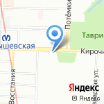 Старпак на карте Санкт-Петербурга