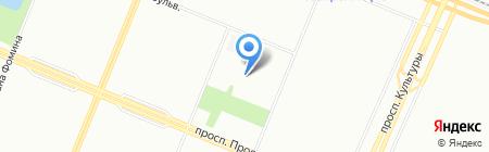Магазин расходных материалов для шиномонтажа на карте Санкт-Петербурга