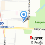 Dispute на карте Санкт-Петербурга
