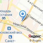 Спасская коллегия адвокатов на карте Санкт-Петербурга