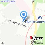 Санкт-Петербургский компьютерный сервис на карте Санкт-Петербурга