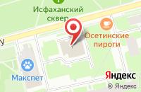Схема проезда до компании Сетаб в Санкт-Петербурге
