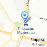Красногвардейское МРА Союзпечать на карте Санкт-Петербурга