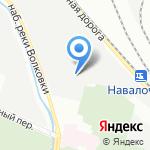 Звено на карте Санкт-Петербурга