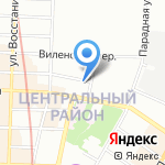 Дива на карте Санкт-Петербурга