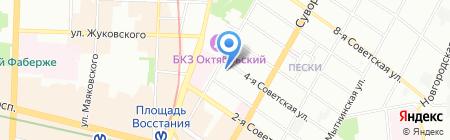 Альфа Академия на карте Санкт-Петербурга