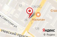 Схема проезда до компании Издательский Дом  в Санкт-Петербурге