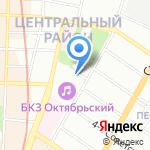 Поток странствий на карте Санкт-Петербурга