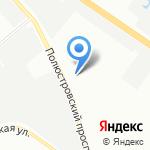 БытГаз на карте Санкт-Петербурга