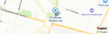 Банкомат Лето Банк на карте Санкт-Петербурга