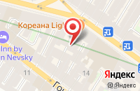 Схема проезда до компании Форвардинг Транспорт Сервис в Санкт-Петербурге